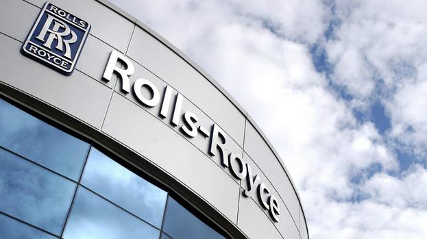 A Rolls Royce Plant