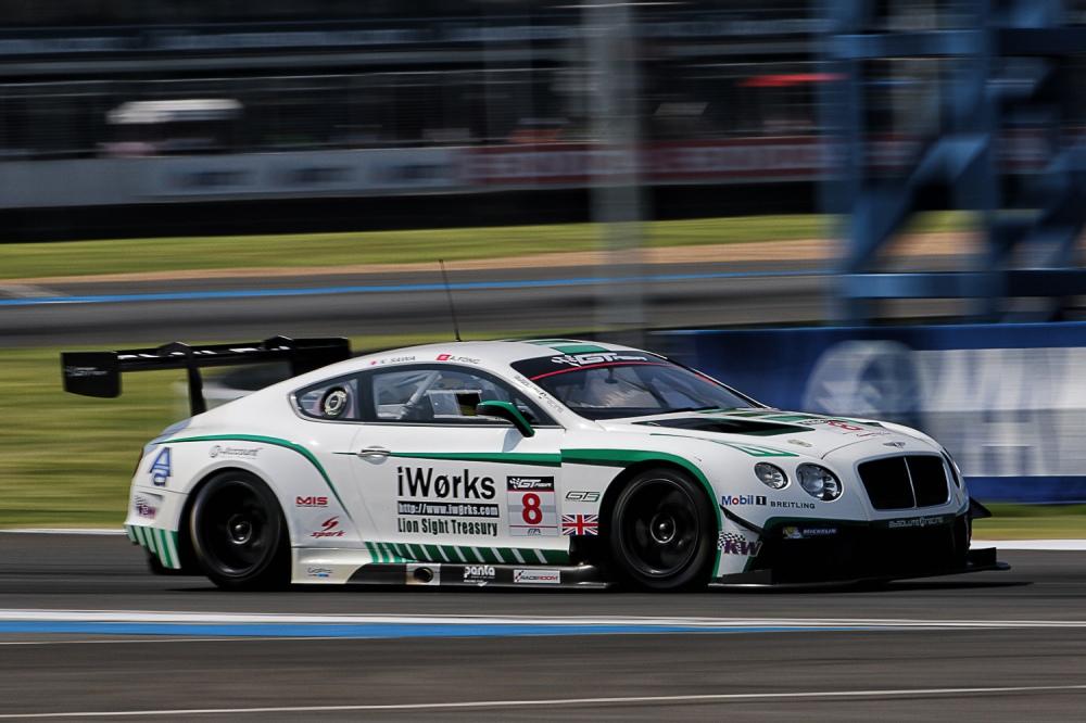Adderly Fong's Bentley Team Absolute Car 8