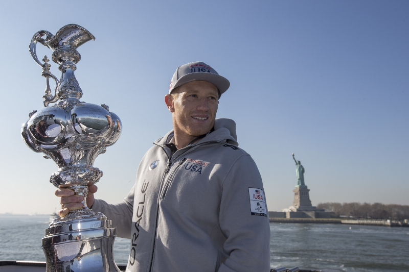 America's Cup Event Authority Jimmy Spithill