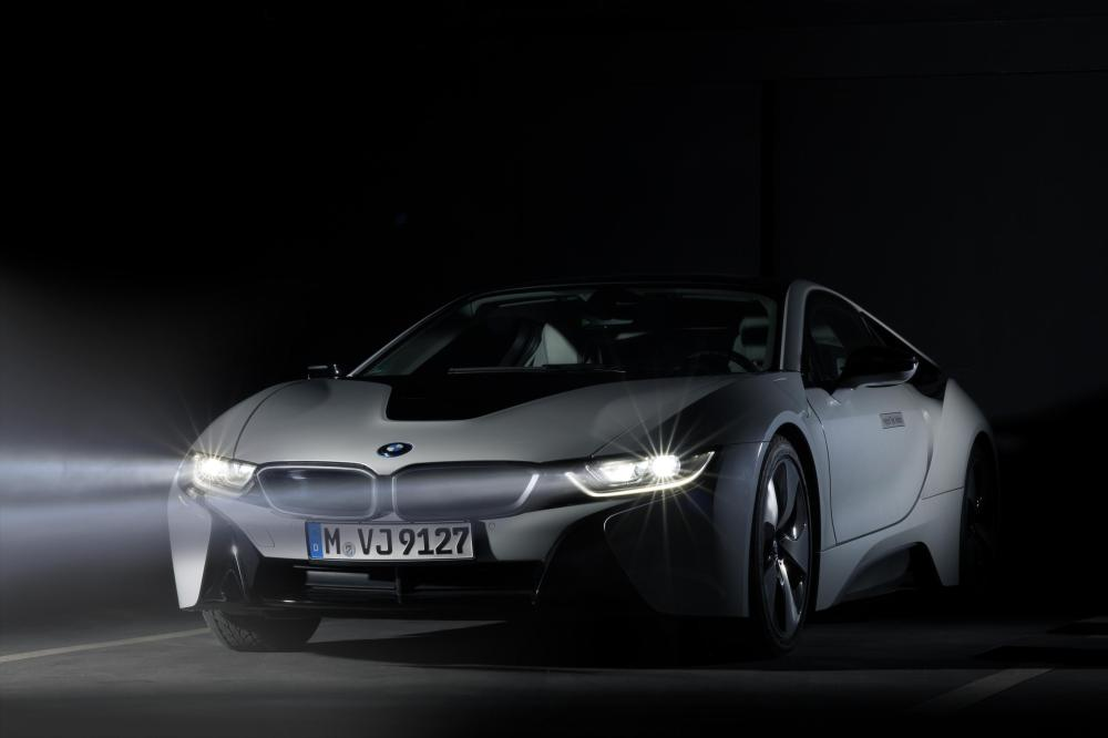 BMW i8: BMW Laserlights