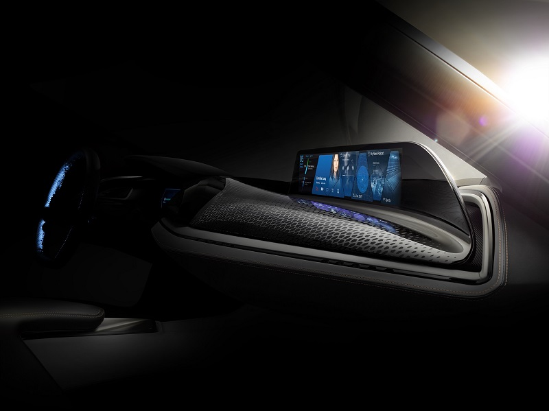 BMW presents the principle of the contactless touchscreen with AirTouch