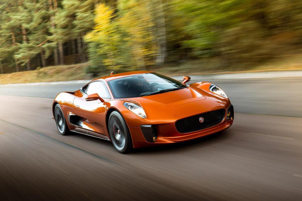 Jaguar C-X75 to exhibit at the Performance Car Show