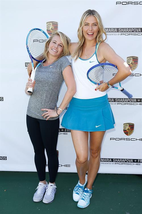 MARIA SHARAPOVA & CHELSEA HANDLER, PRESENTED BY PORSCHE BRINGS TENNIS BACK TO LOS ANGELES