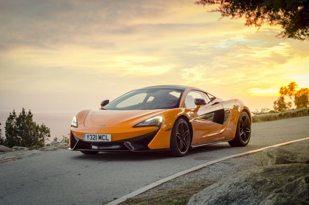 McLaren 570S Coupe-Ventura Orange 1