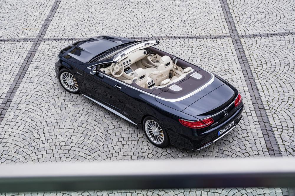 OPEN-TOP DRIVING WITH PRESTIGE AND PERFORMANCE - MERCEDES-AMG S 65 CABRIOLET 2