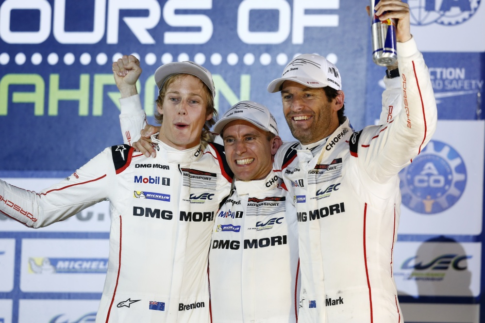 Porsche 919 Hybrid, Porsche Team - Brendon Hartley, Timo Bernhard, Mark Webber