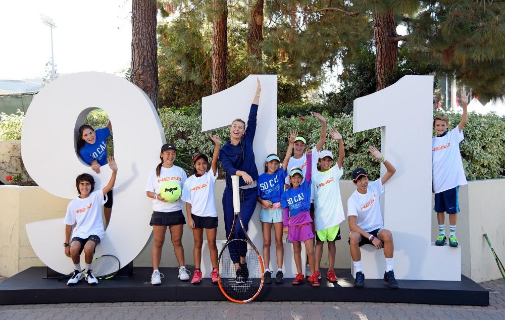 Porsche Brand ambassador Maria Sharapova (Russia) 2