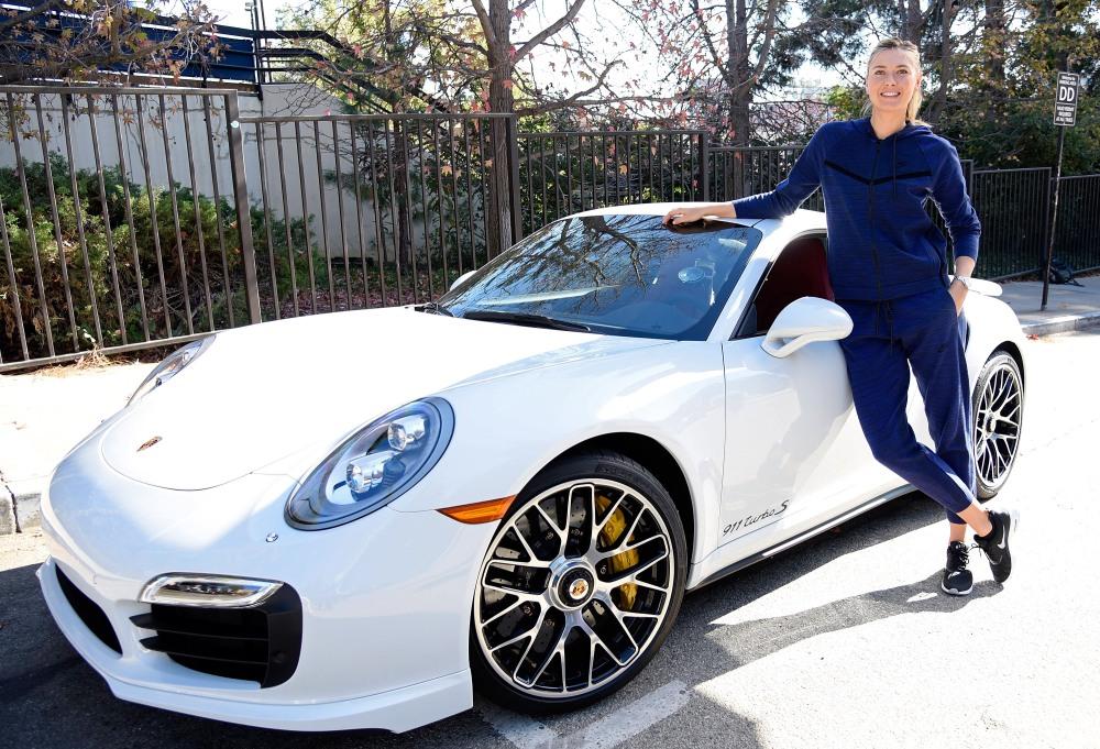 Porsche Brand ambassador Maria Sharapova (Russia)