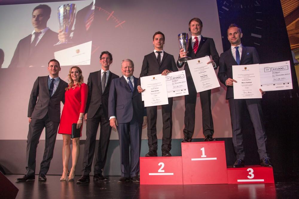 Porsche Cup Ceremony