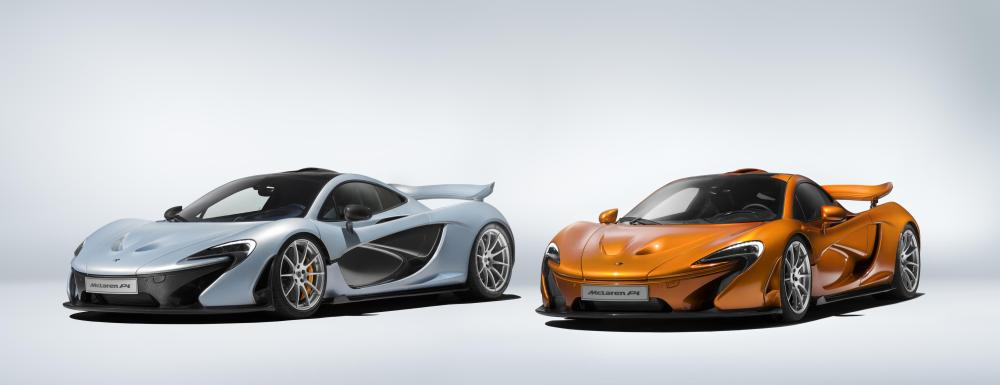 Production of the McLaren P1™ comes to an end 1