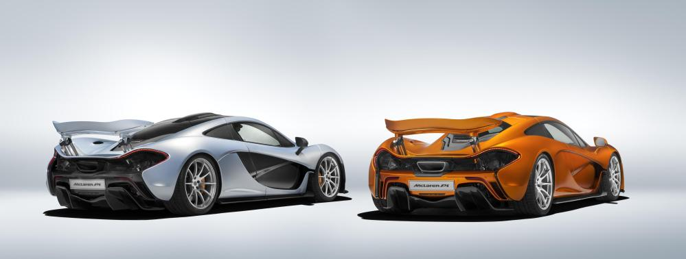 Production of the McLaren P1™ comes to an end 2