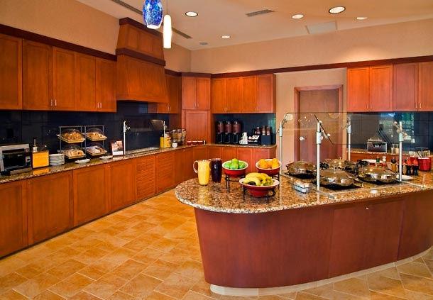 Residence Inn National Harbor Washington DC Breakfast Buffet