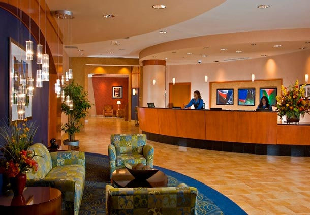Residence Inn National Harbor Washington DC Lobby