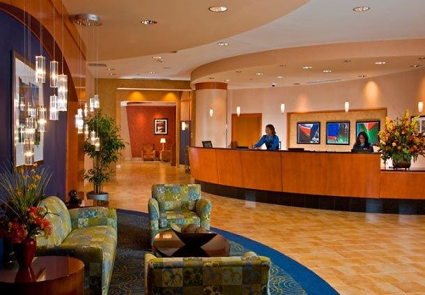 Residence Inn National Harbor Washington DC Lobby