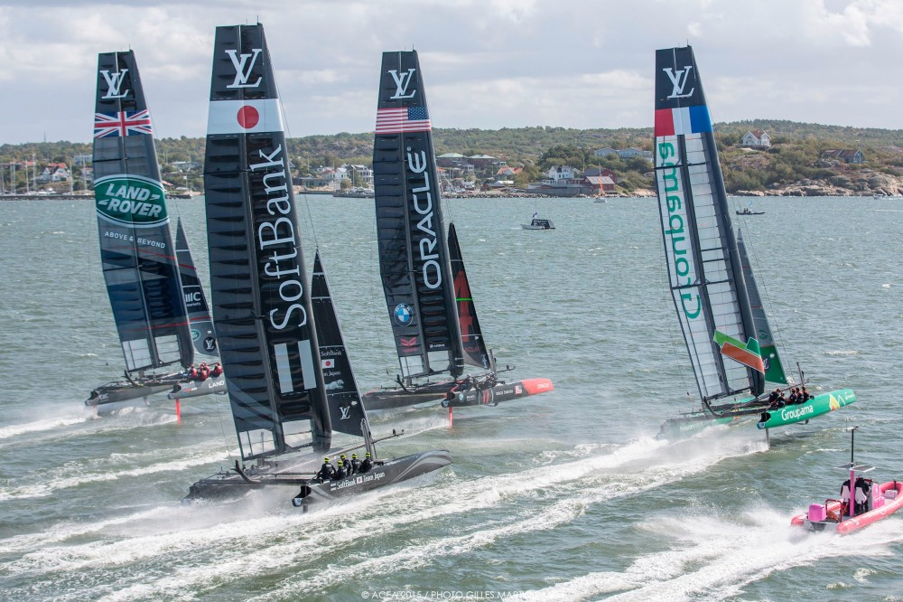 Return to New York - America's Cup Racing