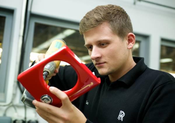 Rolls-Royce Apprentice Sam Evans