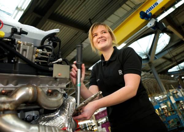 Rolls Royce Apprentice Sophie Moore