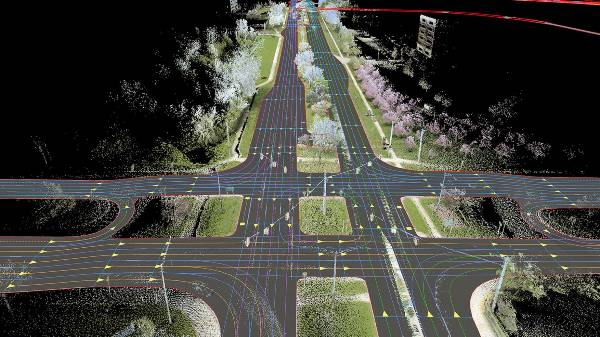The future is HERE Tomorrows mobility begins with real-time digital maps
