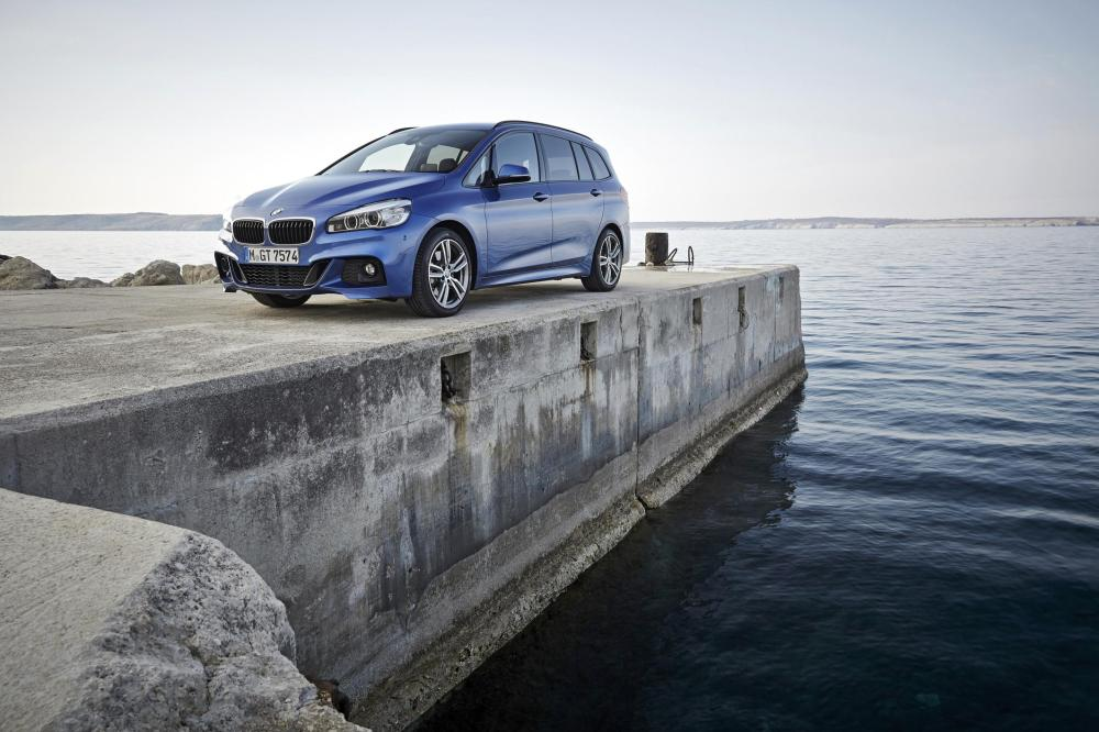 The new BMW 220i Gran Tourer