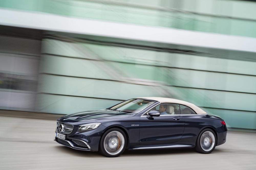 The new Mercedes-AMG S 65 Cabriolet 5