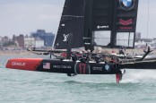 25/07/2015, Portsmouth (GBR), 35th America's Cup, Louis Vuitton America's Cup World Series Portsmouth 2015, Race Day 1