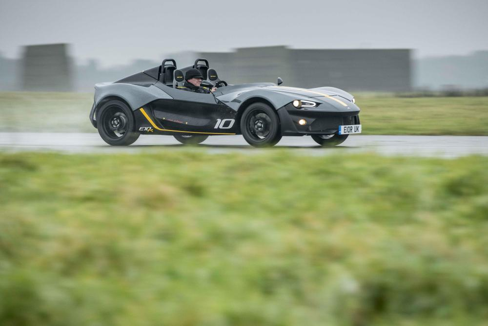Zenos E10 R will exhibit at the Performance Car Show