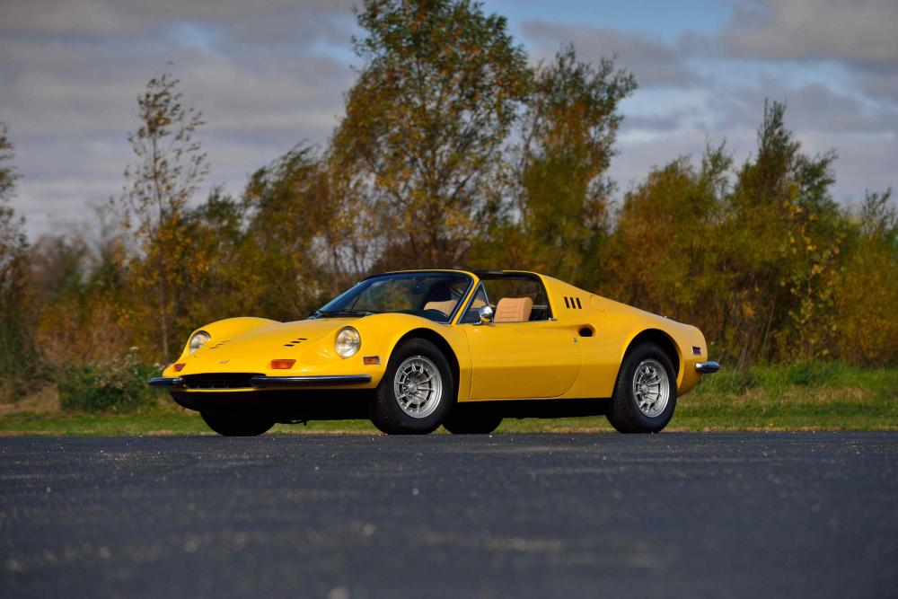 1-1974 Ferrari Dino 246 GTS - Photo by David Newhardt, Courtesy of Mecum Auctions