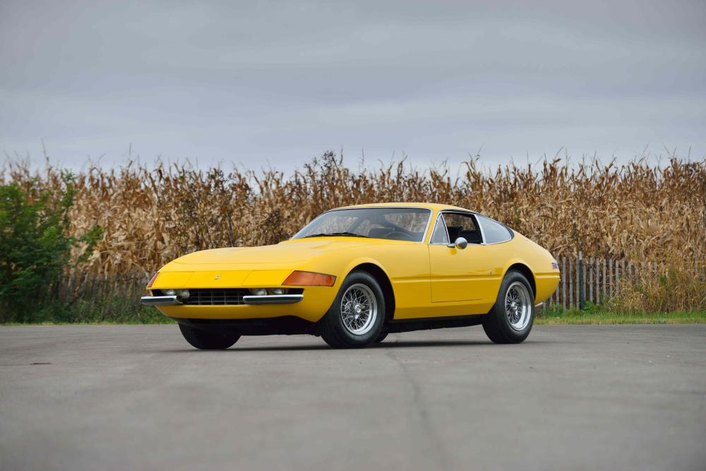 1973 Ferrari 365 GTB 4 Daytona - Photo by David Newhardt, Courtesy of Mecum Auctions
