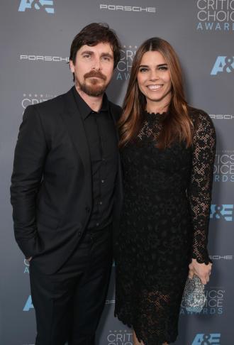 Actor Christian Bale and Sibi Blazic
