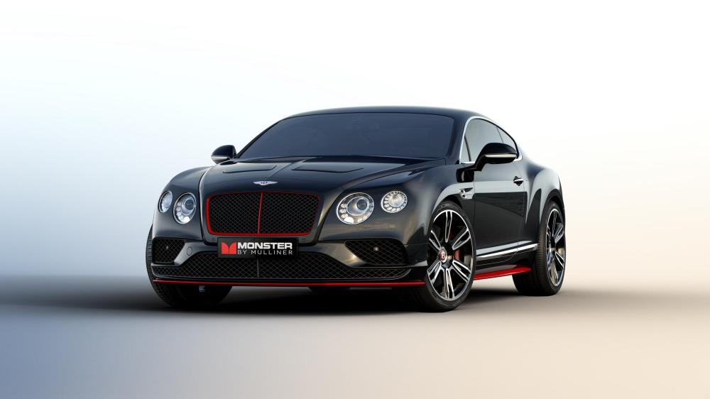 Monster By Bentley - Limited Production Continental GT V8 S to Debut at CES