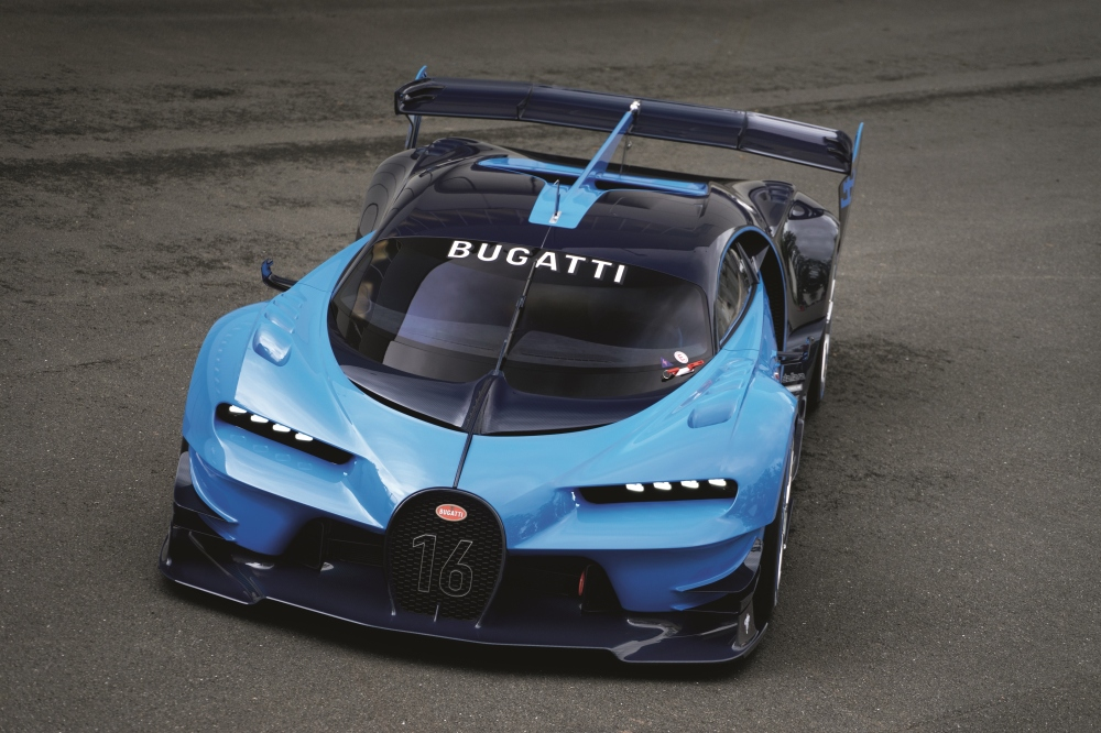 "Bugatti Awarded the ""Grand Prix de la Créativité"" by Festival Automobile International Paris - Bugatti Vision Concept - Emerging Magazine Bugatti News"