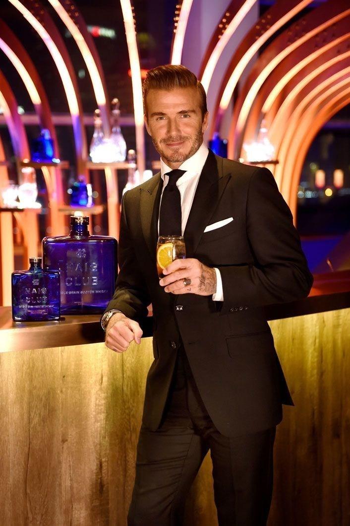 David Beckham Haig Club Shanghai 2