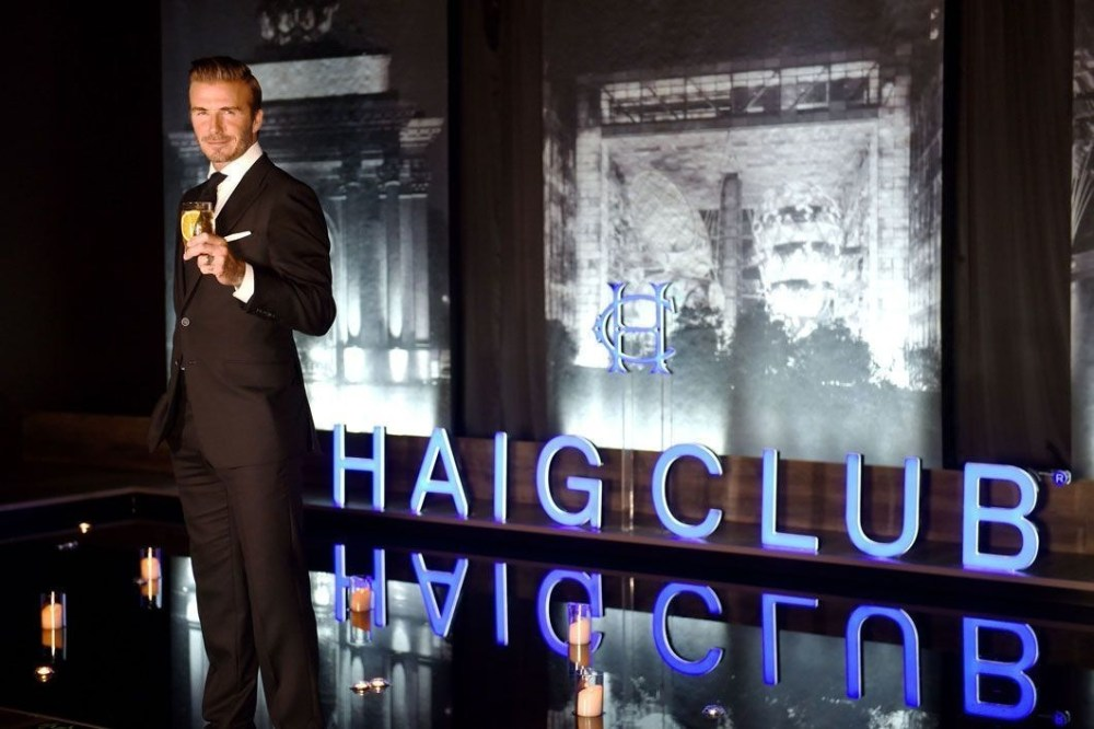 David Beckham Haig Club Shanghai 3