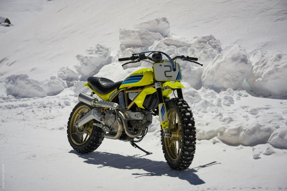 Ducati Scrambler Artika - Emerging Magazine Motorbike News