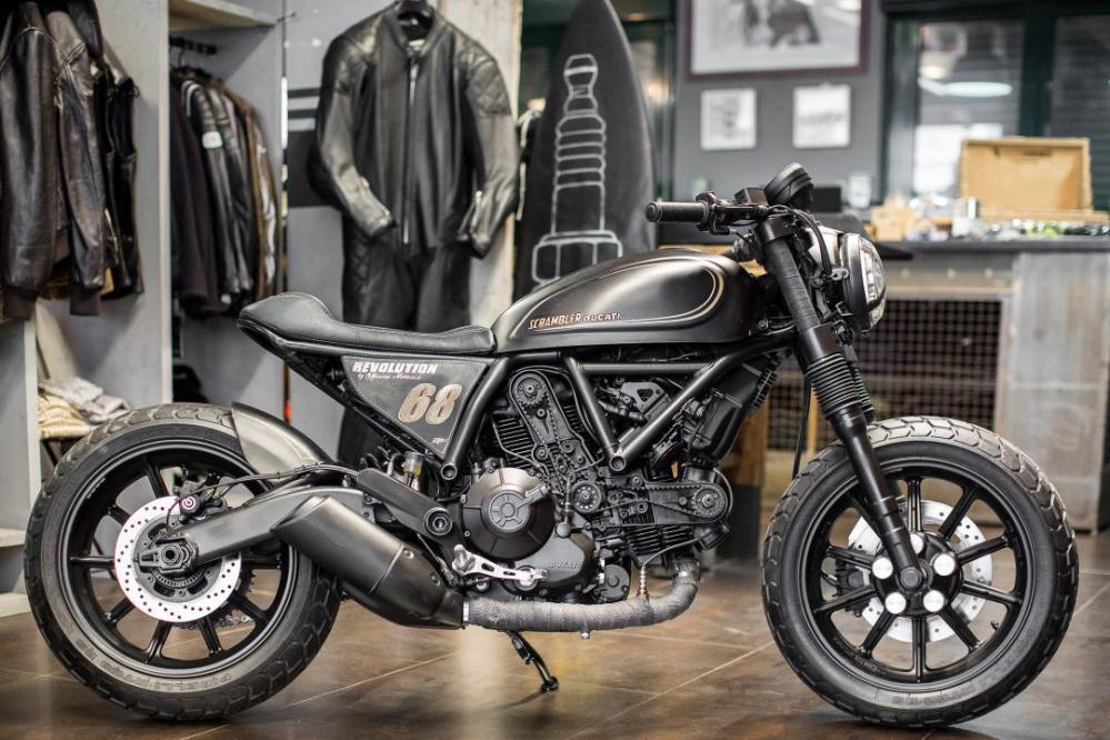 Ducati Scrambler Revolution - Emerging Magazine Ducati News