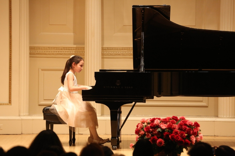 Angelina Hubertus at Carnegie Hall