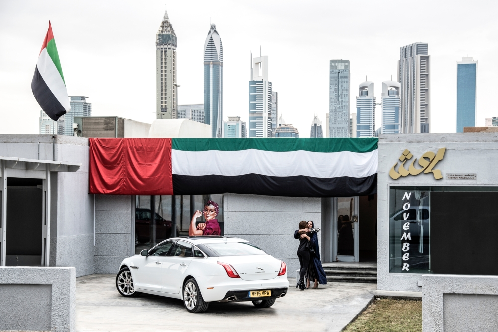 Jaguar Learns How Fashion Innovation is Pushing Boundaries in the Middle East - Picture Credit  Anthony Cullen - Emerging Magazine Fashion News (3)