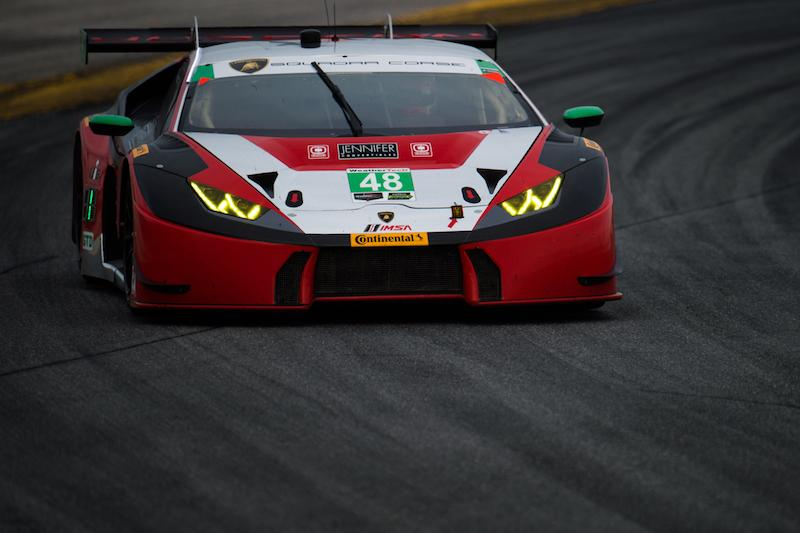 Lamborghini Squadra Corse's Debut Podium Hopes Fall Just Short Despite Competitive Performances (1)