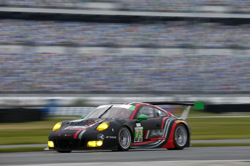 Porsche 911 GT3 R, Park Place Motorsports Patrick Lindsey, Matthew McMurry, Joerg Bergmeister