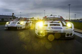 Porsche 911 RSR, Porsche North America 912 Earl Bamber, Frederic Makowiecki, Michael Christensen, Porsche North America 911 Patrick Pilet, Nick Tandy, Kevin Estre