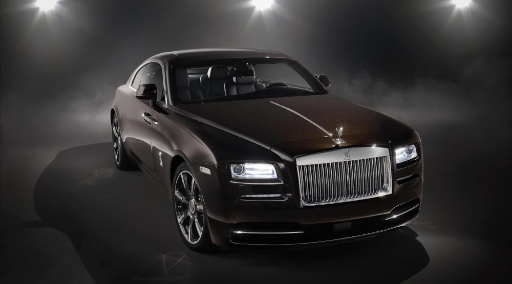 Rolls Royce Wraith Inspired by Music - Rolls-Royce and Designer Richard James Proffer The Art of Arrival