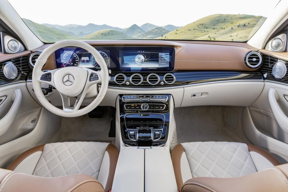 THE MOST INTELLIGENT LUXURY SEDAN IS THE 2017 MERCEDES-BENZ E-CLASS,