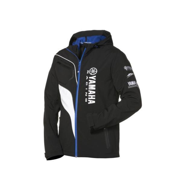 Yamaha Paddock Blue Softshell Jacket - Emerging Magazine - Motorcycle Fashion