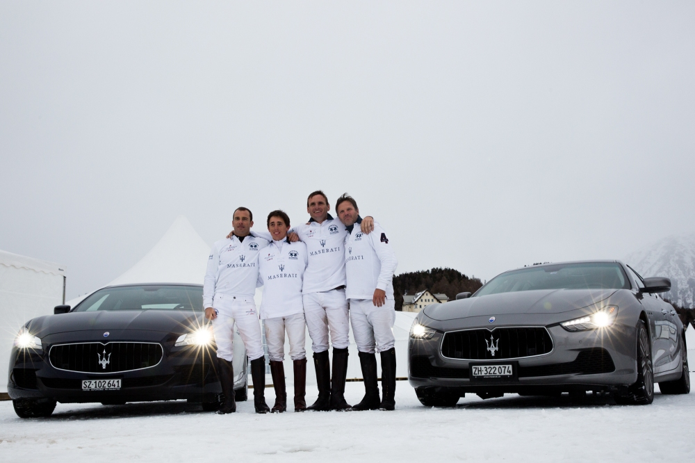04 Maserati Team with Maserati Ghibli and Maserati Quattroporte - Emerging Magazine Maserati Event News - Maserati and Polo