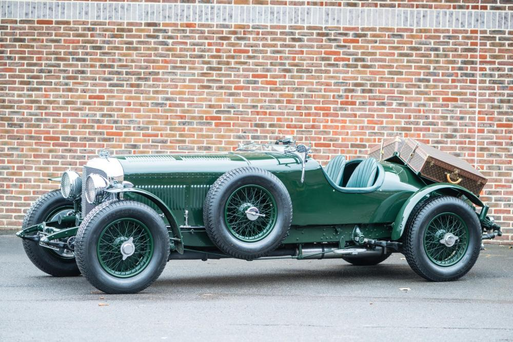 1931 8 Litre Bentley complete with Louis Vuitton Luggage - Emerging Magazine Bentley Vintage Car News
