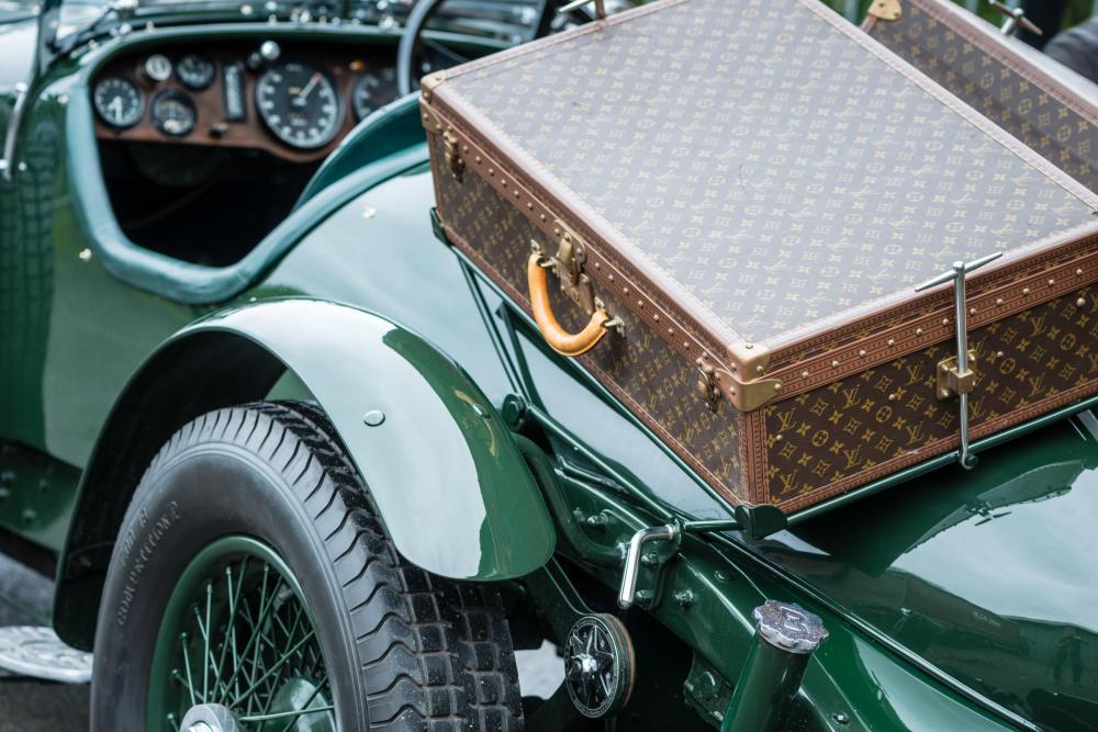 1931 8 Litre Bentley complete with Louis Vuitton Luggage - Emerging Magazine Luxury Vintage Car News