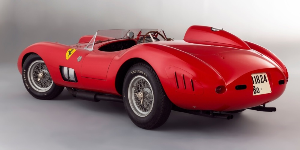 1957 Scaglietti-bodied 335 S Fetched €32,075,000 - Emerging Magazine Rare Car Auction News