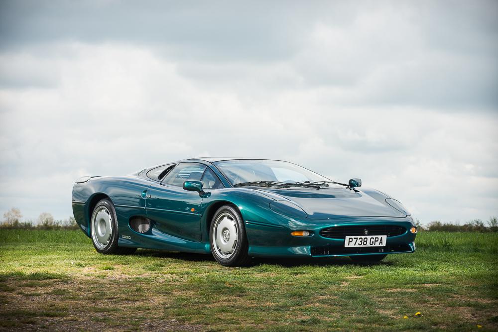 1994 Jaguar XJ220  - Emerging Magazine Car Auction News