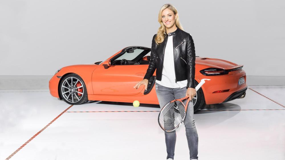 Angelique Kerber, Porsche ambassador, 2016, Porsche AG - Emerging Magazine Porsche News