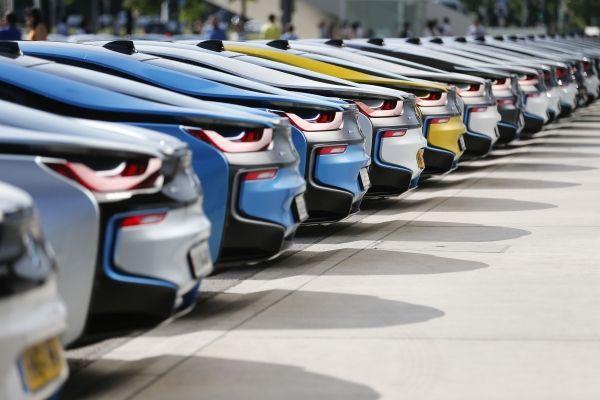 BMW i8 in a Row - Emerging Magazine BMW i8 News